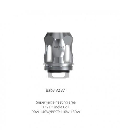 Résistances TFV8 Baby V2. A1 - A2 - A3 Smok