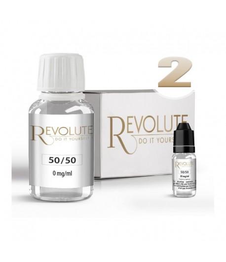 Pack 100 ml Base DIY 50/50 PG/VG Revolute