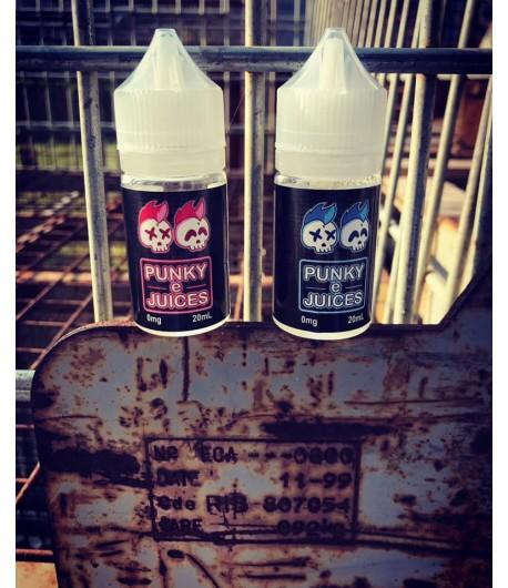 Punky Ejuices Fraise ou Pêche 20 ml.